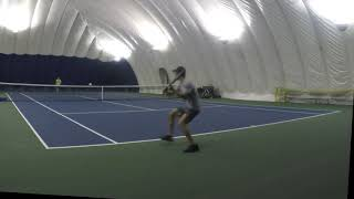11/16/18 Tennis - Indoor Match Highlights