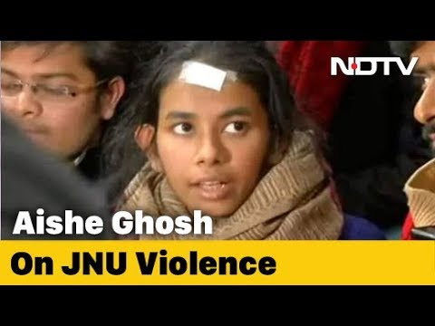 'Wasn't The One In A Mask': Aishe Ghosh Hits Back At Delhi Police Claims