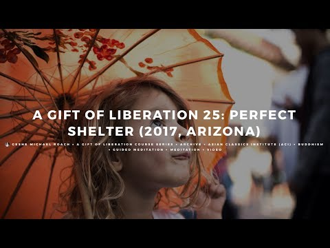 Class 01 - A Gift of Liberation 25: Perfect Shelter (2017, Arizona)