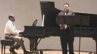 pvamu senior recital iv aria for alto saxophone and piano