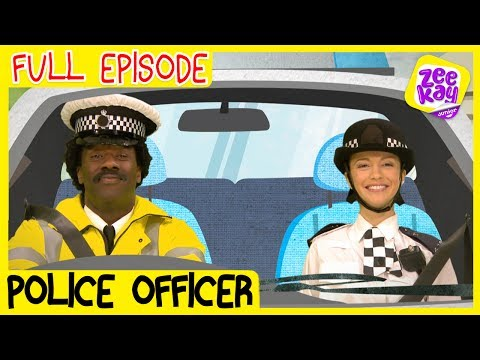 Let's Play: Police Officers | FULL EPISODE | ZeeKay Junior