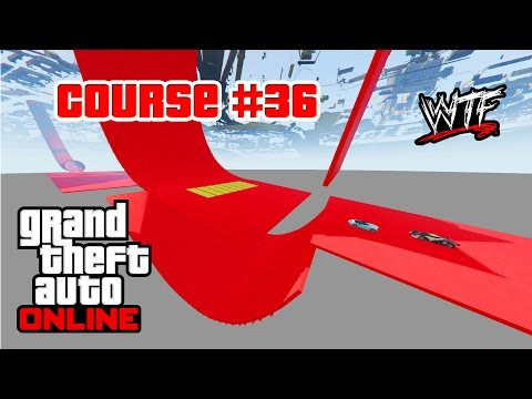 """EXCEPTIONNEL !!! Course #36 """"Casse-cou - UnderMap!!!!"""" WTF GTA V Online Xbox One"""