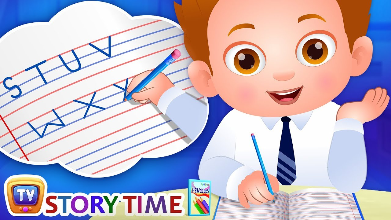 Download ChaCha Learns to Write - ChuChuTV Storytime Good Habits Bedtime Stories for Kids