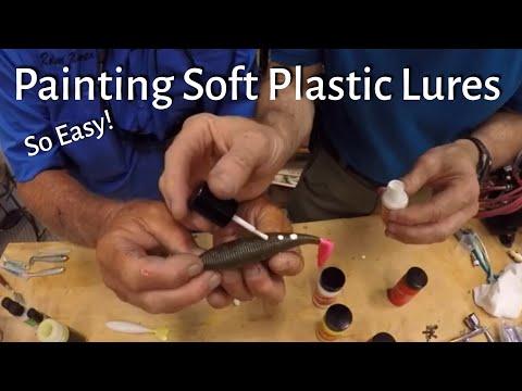 Make Custom Colored Soft Plastic Fishing Lures - So Easy!