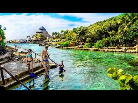 PARQUE XCARET CANCUN MEXICO RIVIERA MAYA PARK | GRAND BAHIA PRINCIPE TULUM MEXICO 2017 Ep.5