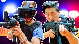 Can A Cop In VR Outshoot A Cop On PC?
