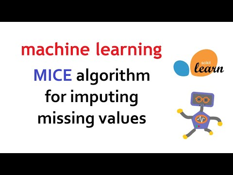 Multivariate Imputation By Chained Equations (MICE) Algorithm For Missing Values   Machine Learning