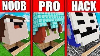 Minecraft: NOOB vs PRO vs HACKER 😱🔥 DESAFIO DE LA BASE SECRETA