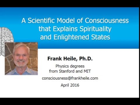 A Model of Consciousness Explains Spirituality and Enlightened States