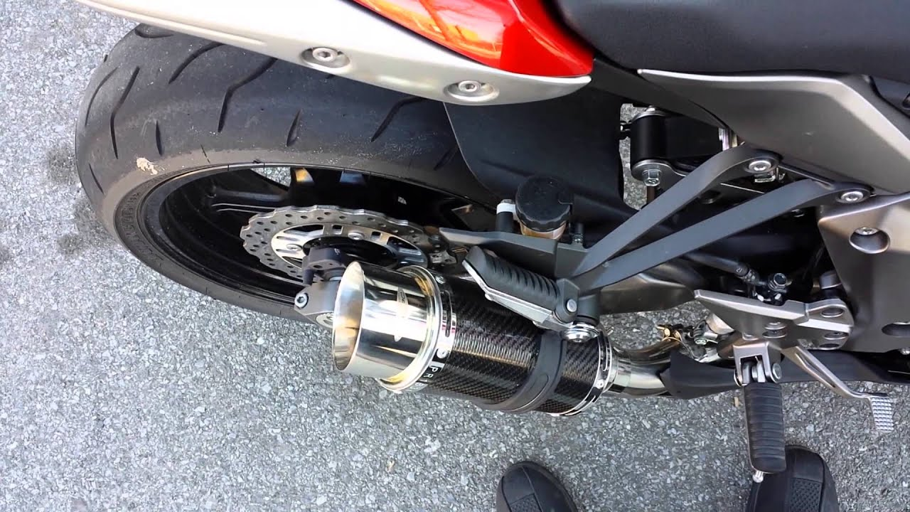 Delkevic Exhaust Kawasaki Concours
