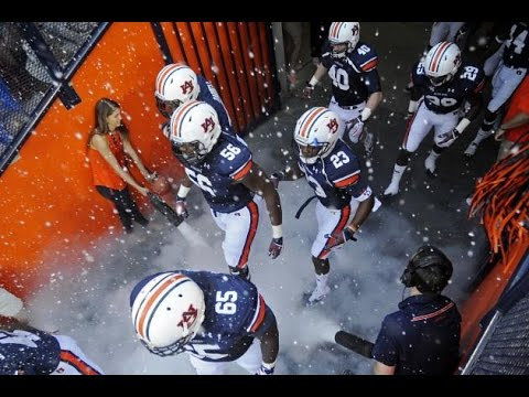 "Auburn Tigers Football Pump-Up 2016-17 - ""Go Time"" ᴴᴰ"