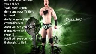 WWE Sheamus Theme Song - Written in my Face