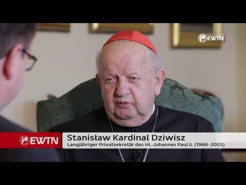 Zeuge des Hl. Johannes Paul II. - Interview mit Kardinal  Dziwisz (Teil 1)