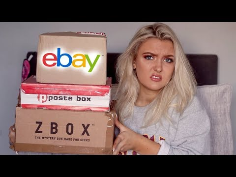 Opening Mystery Boxes I bought From Ebay! *SHOCKING*