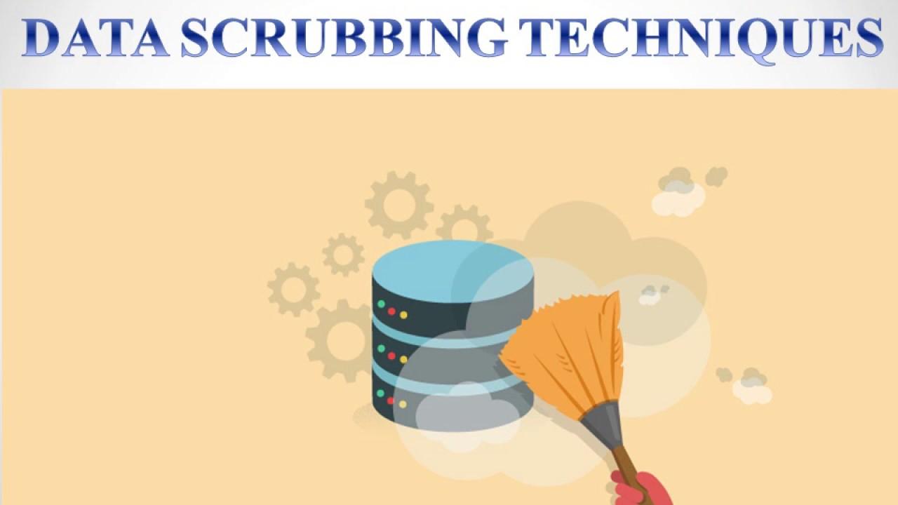 data scrubbing techniques Data Scrubbing Techniques - YouTube