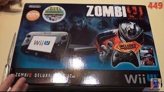 Nintendo Wii U 32GB Zombie U Deluxe Set Unboxing