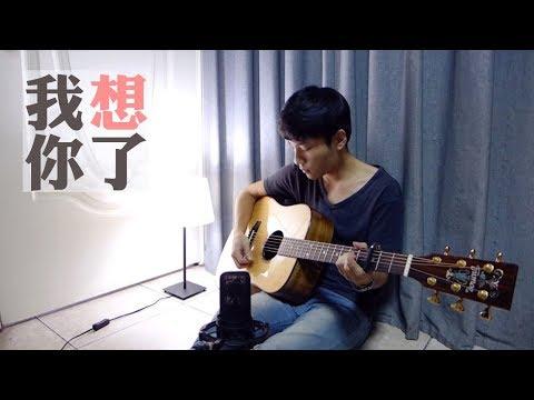【晚安歌系列】畢書盡 Bii -《我想你了》電視劇(1%的可能性)片尾曲 陳星合 Cover 吉他翻唱