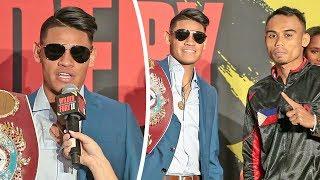 Emanuel Navarrete vs. Jeo Santisima - FULL GRAND ARRIVALS | Las Vegas MGM - Wilder v Fury 2