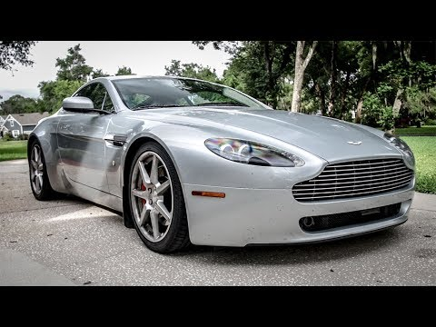 I Lowered My Cheap Aston Martin For $3,000 And I Didn't Expect It To Be This Good