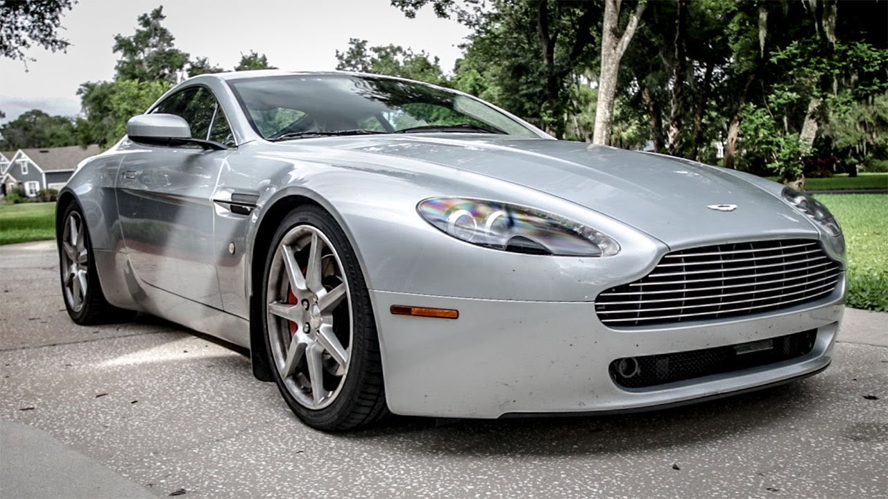 I Lowered My Cheap Aston Martin For And I Didnt Expect It To - Aston martin marin