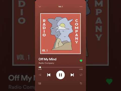Off My Mind - Radio Company (Jensen Ackles, Steve Carlson)