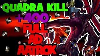 League of Legends - Full AD Aatrox - OneShot, Quadra i +400AD