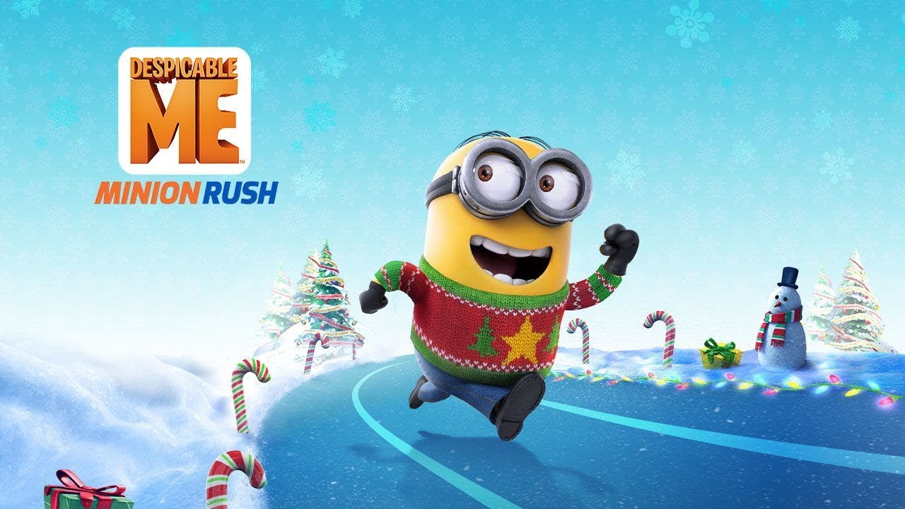 minion rush jolly christmas trailer - Minion Rush Christmas