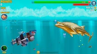 Hungry Shark Evolution Robo Shark Android Gameplay #37