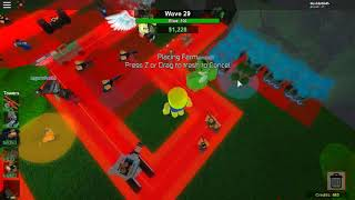Trying for a Triumph on Midnight Road Quad Op (Roblox Tower Battles)
