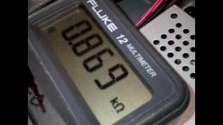 Repeat youtube video How to check Resistors using meter