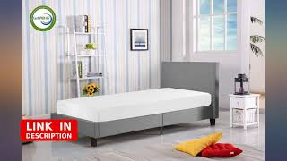 Mattress 8 inch Gel Memory Foam Mattress for Cool Sleep & Pressure Relief, Medium revieww