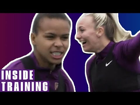 Lionesses Look Sharp In Preparation For Spain! | England V Spain | Inside Training