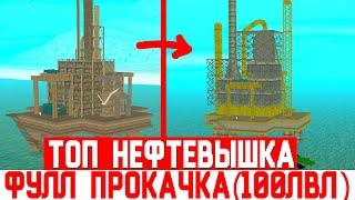 Финка ТОП 1 НЕФТЕВЫШКИ(100/100 лвл) на ARIZONA RP