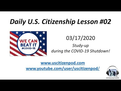 Daily U.S.Citizenship Lessons 02