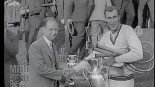Bill Tilden vs Bill Johnston 1925 U.S. National Championships Final