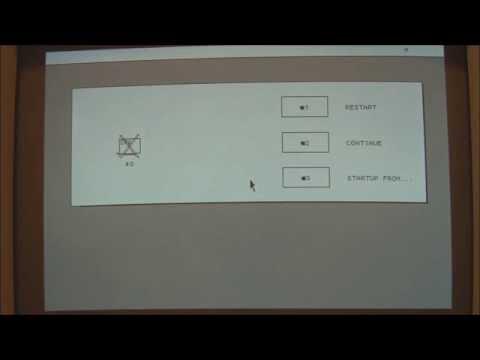 Macintosh XL / Apple Lisa 2 (1984) Start Up and Demonstration