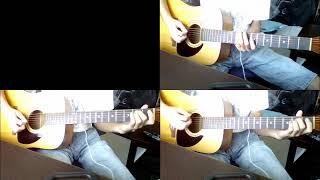 説明 あたしンちの主題歌だったサラバを弾きました。コード弾いてます。