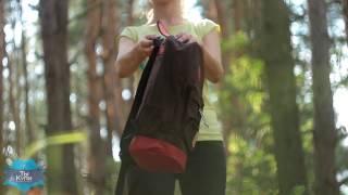 Молодежный женский коричневый рюкзак Кошачьи ушки