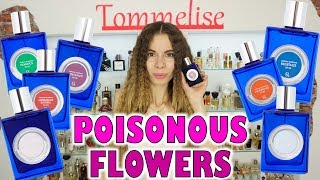 PARFUMS QUARTANA FULL HOUSE OVERVIEW: INSPIRED BY POISONOUS FLOWERS | Tommelise