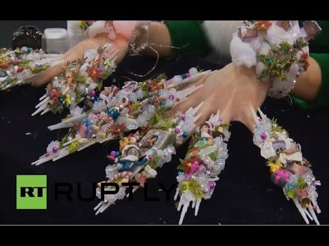 italy nailympics breed the zaniest manicures youtube