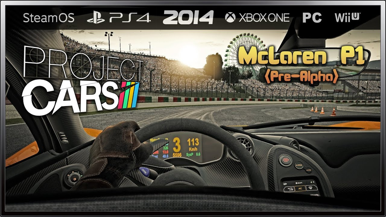 Project cars mclaren p1 39 13 pre alpha suzuka youtube - Project cars mclaren p1 ...