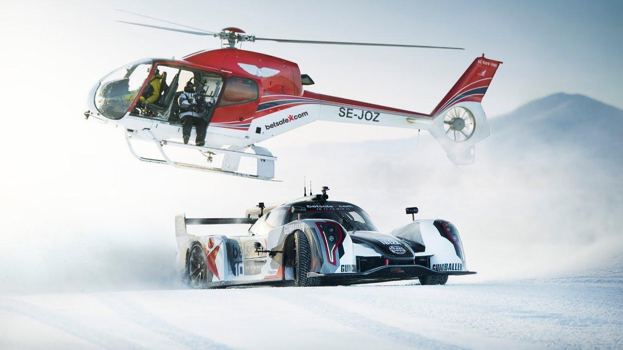 Supercar Drifting Uphill In Snow Jon Olsson S Rebellion