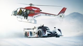 Supercar Drifting Uphill in Snow - Jon Olsson