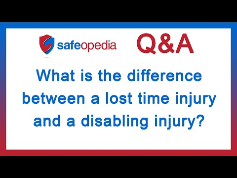 What Is A Time Weighted Average Definition From Safeopedia >> What S The Difference Between Lost Time Injury Disabling Injury