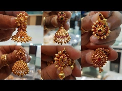 GOLD EARRING DESIGNS