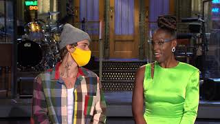 Issa Rae And Justin Bieber Are Excited For 'SNL'