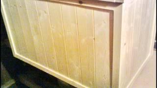 Traditional Pine Blanket Box