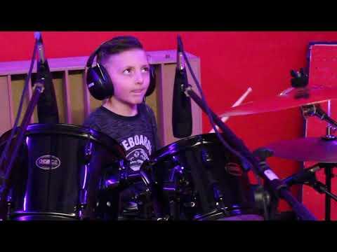 Sweet Child O'Mine -Guns N'Roses- Drum Cover - Antonio Palumbo - 7 anni - Batteria - Little drummer