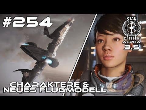 Star Citizen #254 Alpha 3.5 - Charakter-Erstellung & Neues Flugmodell [Deutsch] [1440p]