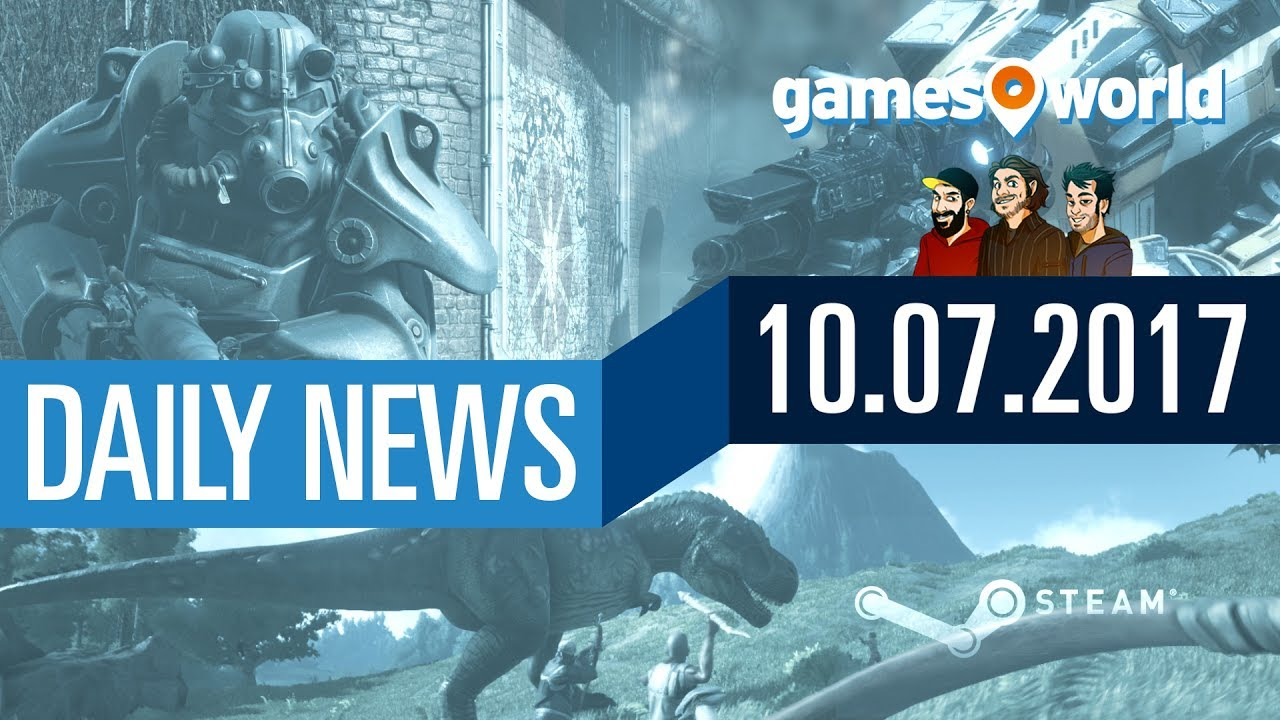Steam Design, BF1 Und Titanfall 2 Gratis, ARK: Survival Evolved |  Gamesworld Daily News   10.07.2017